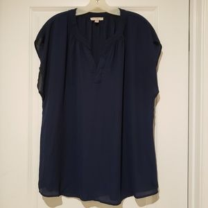 💜 Roz & Ali Short Sleeve Blouse